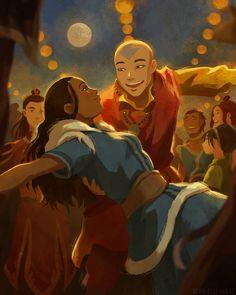 Avatar Ang, Avatar Fan Art, Avatar Legend Of Aang, The Last Avatar, Avatar The Last Airbender Art, Team Avatar, Legend Of Korra, Aang Y Katara, Ang And Katara