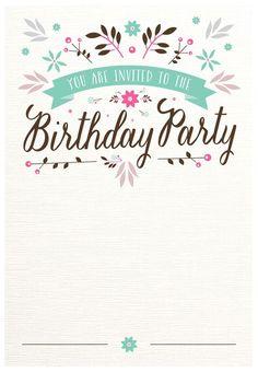 Free Printable Birthday Invitations For Kids freeprintables