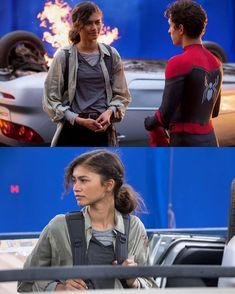 Spiderman Man, Tom Parker, Tom Holland Peter Parker, Disney Marvel, Marvel Dc, Marvel Comics, Love Scenes, Behind The Scenes, Spider Man
