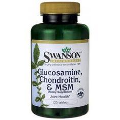 Swanson Glükozamin Kondroitin MSM
