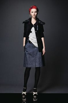 Photo 3- The Preppy Tomboy Never Looked So Good Than In Jennifer Chun's Fall 2011 Lookbook