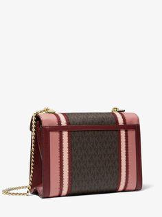 ec99ed1cd5 MICHAEL Michael Kors Whitney Large Logo and Leather Convertible Shoulder Bag   Whitney Large