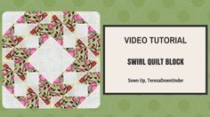 This block is made out of 2 squares of fabric. Yes, just 2 squares of fabric in contrasting fabrics. This is a beginner's quilt block. Blog post: http://wp.m...