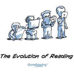 Evolution of Reading by GoneReading™
