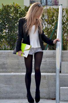 shorts con medias