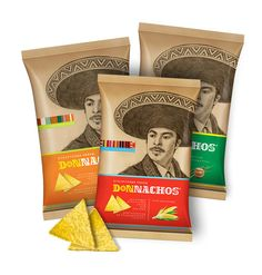 Donnachos by Maxim Kadashov Clever name and matching #packaging PD