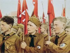 Hitler had the youth of his Nation under his control at a very early age because he believed that whoever rocks the cradle will control the World!!