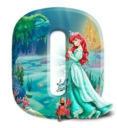 Disney Alphabet, Celebration Background, Sarah Kay, Princesas Disney, Monogram Letters, The Little Mermaid, Projects To Try, Superman 1, Education