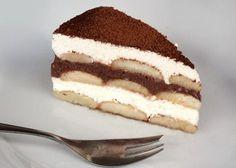 Desať receptov na dezerty s piškótami - zena.sme.sk Sweet Desserts, No Bake Desserts, Sweet Recipes, Czech Recipes, Chocolate Pies, Breakfast Snacks, Graham Crackers, No Bake Cake, Tiramisu