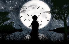 Consumed by darkness. ~Mirai Nikki