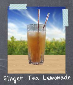 Limonada de Té de Jengibre