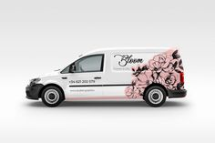 Bloom | Vehicle Graphic on Behance