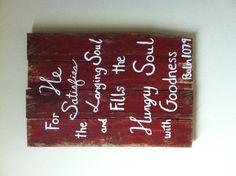 DIY wood sign - pallet wood