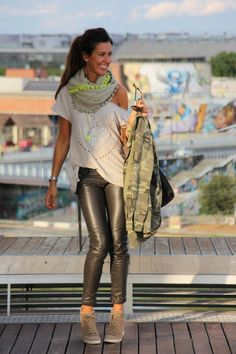 camuflage and fluor details | Chicisimo
