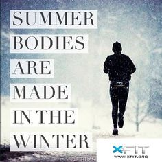 Summer bodies are made in Winter. What's YOUR plan? #P90X3 #T25