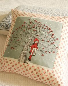 Belle And Boo 'My Favourite Spot In Winter' Cushion by Folly Home