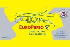Del 3 al 6 de junio #Europerio8.  Europerio 8 - 3-6 June, 2015. London UK. See you there!
