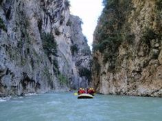River rafting near Ioannina