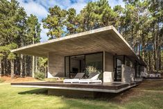Forest House by Besonias Almeida Architecture