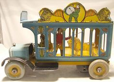 Strauss circus truck,1930's USA