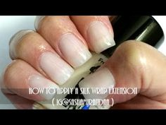 How To Apply A Silk Wrap Extension