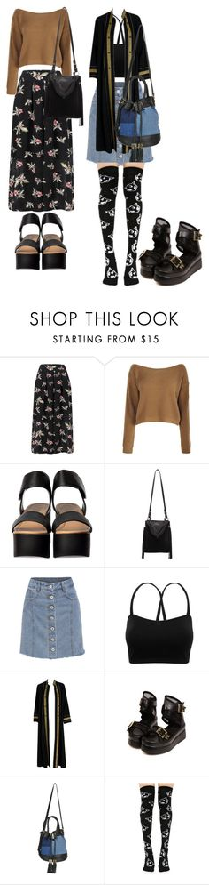 """""""minds"""" by vinktkgnn ❤ liked on Polyvore featuring Boohoo, Sam Edelman, Thea Porter, See by Chloé and Stance"""