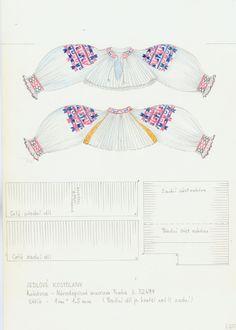 Folk Embroidery, Sewing Patterns, Spiritual, Projects To Try, Fabric, Fashion, Fabrics, Dressmaking, Pattern