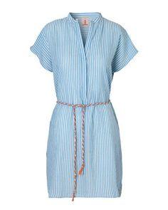 Beck Söndergaard Strandkleid Cial, hellblau - Dieses lässige Strandkleid von Beck Söndergaard ist nicht nur super luftig sondern auch richtig schön. Ideal für heiße Tage, ganz egal ob zu Hause oder im Urlaub. Sie werden es lieben.