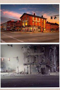 The Emmitt House In Waverly Ohio Built 1861 Burnt 2017 Before