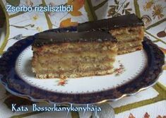 Zserbó rizslisztből (Gluténmentes) Gluten Free Desserts, Fun Desserts, Gluten Free Recipes, No Carb Recipes, Diet Recipes, Sin Gluten, Sugar Free Diet, Torte Cake, Paleo Baking