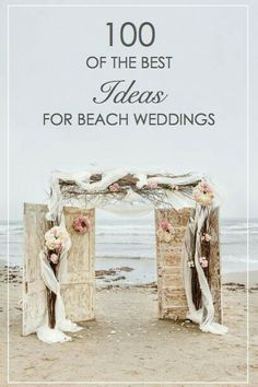 Dreaming of a fairytale wedding on a beach somewhere? Beaches are popular wedding venues, but they do take a bit of planning, especially if it's a destination wedding. Everything from the food, to decorations, and even the dress will need to be tailored t Wedding Tips, Diy Wedding, Wedding Venues, Dream Wedding, Wedding Day, Wedding Beach, Trendy Wedding, Vintage Beach Weddings, Beach Wedding Ideas On A Budget