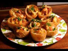 Картофель, фаршированный мясом - кулинарный рецепт
