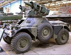 Ferret Armored Scout Car //