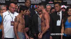 HBO Boxing News: Pacquiao vs. Algieri Weigh-In (HBO Boxing)