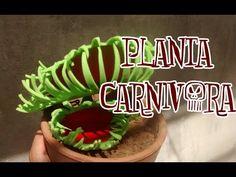 DIY:planta carnivora: Halloween - YouTube