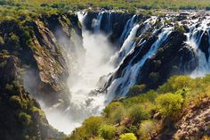 Ruacana Falls, Angola, Africa