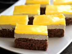 Gourmet Recipes, Cooking Recipes, Hungarian Recipes, Brownie Bar, Recipies, Goodies, Food And Drink, Cupcakes, Sweets