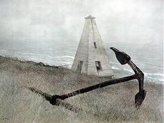 Andrew Wyeth - Sea Running