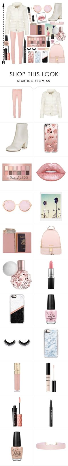 """Puffer Jacket💕"" by lara-fashion22 ❤ liked on Polyvore featuring Polaroid, Balenciaga, New Look, Casetify, Maybelline, Lime Crime, Quay, Royce Leather, MICHAEL Michael Kors and MAC Cosmetics"