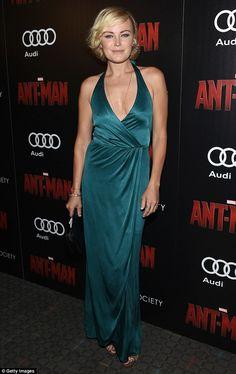 Malin Akerman stuns in green at the Ant-Man New York City premiere #dailymail