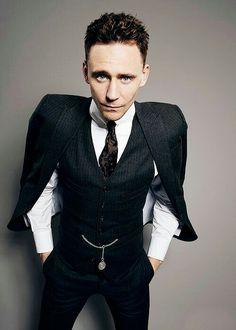 Tom Hiddleston. Oh my darling...