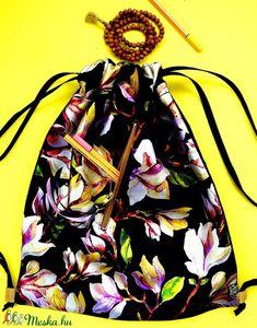 ' Iris ' L 'bélelt, pufi női minihátizsák/válltáska/tornazsák mintás /erős pánttal (feyerzsuzsa) - Meska.hu Bags, Fashion, Handbags, Moda, La Mode, Dime Bags, Fasion, Lv Bags, Purses
