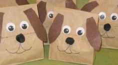 Puppy party goody bag