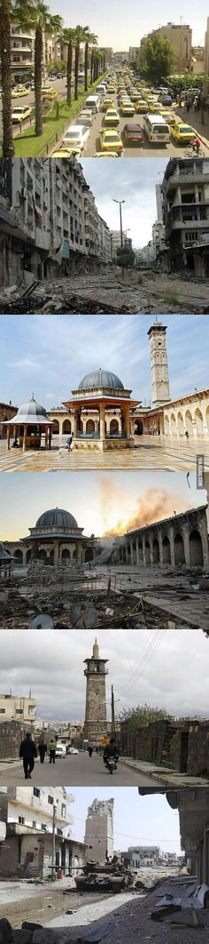 Damascus, Syria, before and after | DailyFailCenter