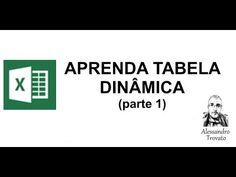 Aprenda Tabela Dinâmica Excel - Parte 1 - YouTube