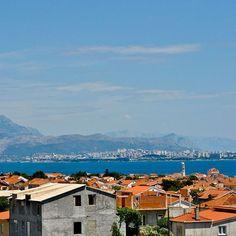 Blick auf #Split in #Kroatien am #Mittelmeer #Urlaub #Urlaubstipp #sharetravelpics #croatia