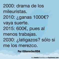 Evolución salarial en España. #humor #risa #graciosas #chistosas #divertidas