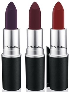 MAC Partners with Nasty Gal 4th December Runner burgundy (matte) Gunner deep purple (matte)