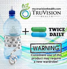 Try the most popular weight loss tool out there on the market now! www.lizaknopp.truvisionhealth.com/trynow