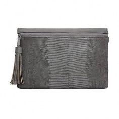 Yoins Yoins Grey PU Clutch Bag